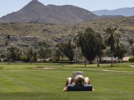 No golf courses in California's deserts during a drought