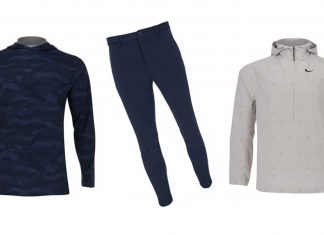 This trendy fall golf apparel from GlobalGolf offers comfort and technology
